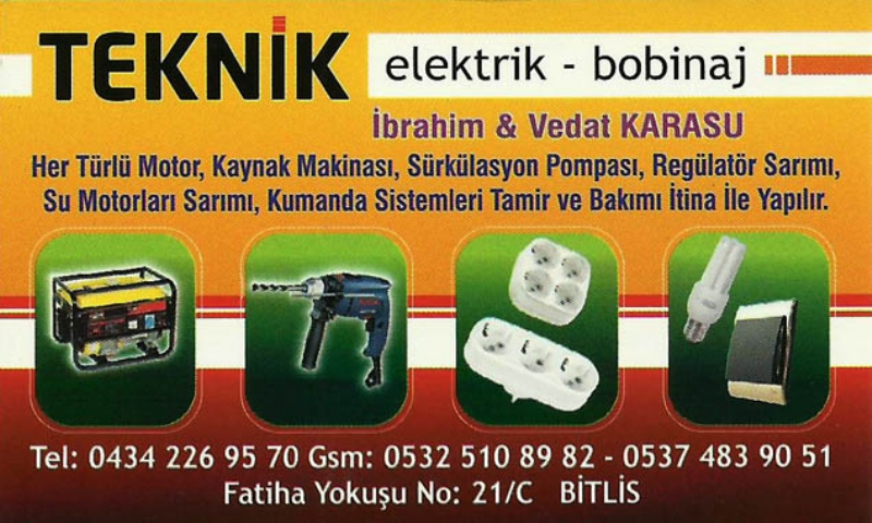 Teknik Elektrik Bobinaj