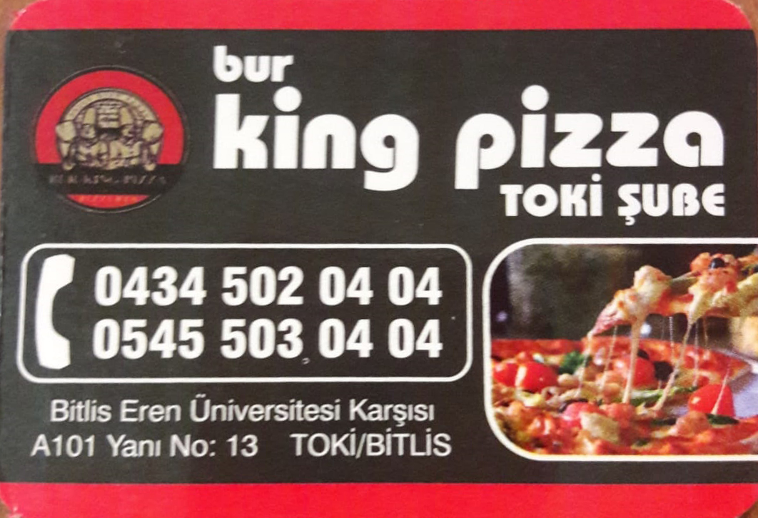 Bur King Pizza – Toki Şubesi