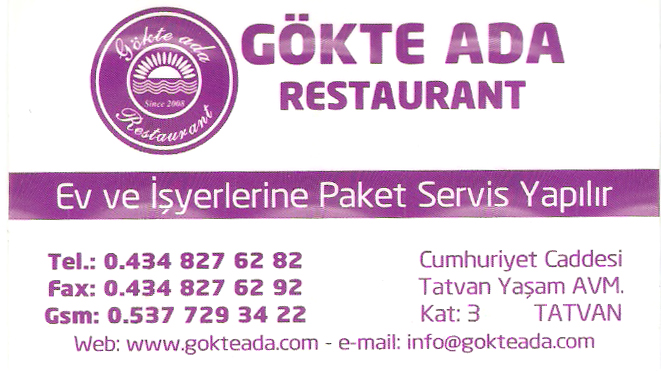 Gökte Ada Restaurant